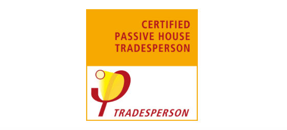 Logo Certificado Passive House Tradeperson